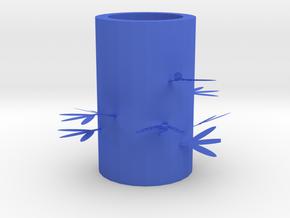 筆筒.stl in Blue Processed Versatile Plastic