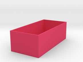 衛生紙盒.stl in Pink Processed Versatile Plastic