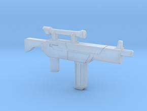Tek-Tac Machine Gun in Smooth Fine Detail Plastic: Small