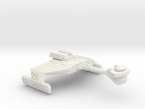 3125 Scale Klingon D5K Refitted War Cruiser WEM in White Natural Versatile Plastic