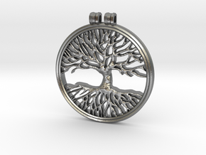 The Tree Of Life in Natural Silver