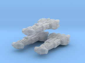 Modified Corvette v2 x3 in Smooth Fine Detail Plastic