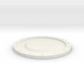 杯墊.stl in White Natural Versatile Plastic