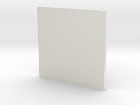 Snow crystal cup mat in White Natural Versatile Plastic: Medium
