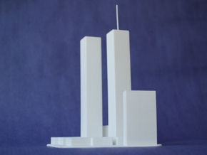 World Trade Center in White Strong & Flexible