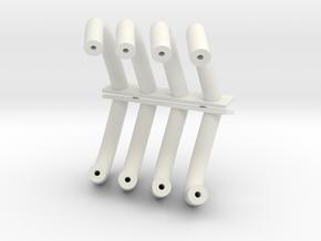 Altered Headers 1/12 in White Natural Versatile Plastic