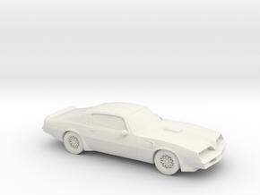 1/87 1977 Pontiac Firebird Trans Am  in White Natural Versatile Plastic