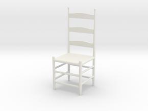 Spanish Chair  in White Natural Versatile Plastic