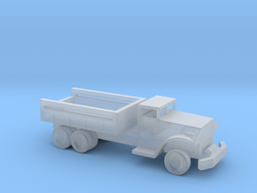 1/144 Scale White 666 Cargo Truck in Smooth Fine Detail Plastic