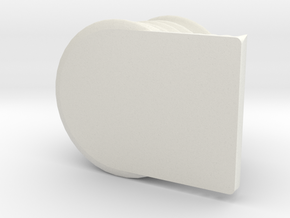 pen holder.stl in White Natural Versatile Plastic