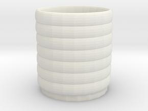 rainbow cup in White Natural Versatile Plastic: Medium