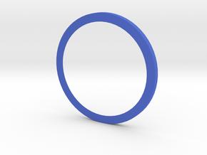 106107105 in Blue Processed Versatile Plastic: Medium