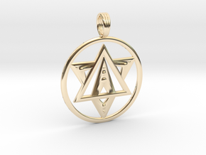 SHIFT 2018 in 14k Gold Plated Brass