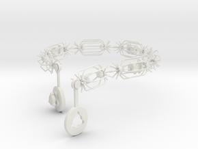 Neck It Upload4 in White Natural Versatile Plastic