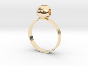 RING in 14K Yellow Gold: Extra Small