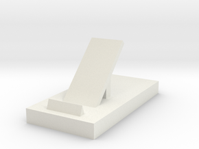 106102244phone stand in White Natural Versatile Plastic