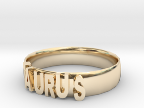 TAURUS Bracelets in 14k Gold Plated Brass