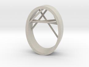 Agguvo Ring in Natural Sandstone