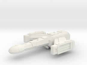 Alexander Class Scout in White Natural Versatile Plastic