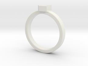 WIN WIN in White Natural Versatile Plastic: 1.5 / 40.5