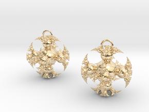 IF Kleinian Earrings in 14k Gold Plated Brass