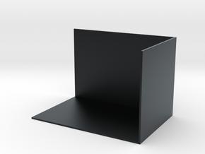 書架.stl in Black Hi-Def Acrylate