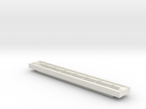 Inspection Pit HO 87:1 Scale in White Natural Versatile Plastic