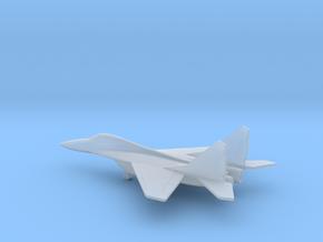 MiG-29 Fulcrum in Smooth Fine Detail Plastic: 6mm