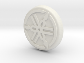 Yamaha RD Fork Cap in White Natural Versatile Plastic