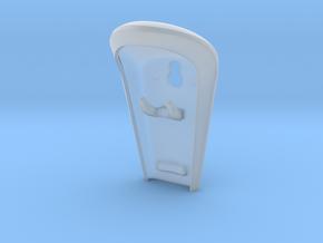 Razor Hook Holder in Smooth Fine Detail Plastic