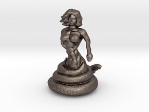 The Temptress  in Polished Bronzed Silver Steel