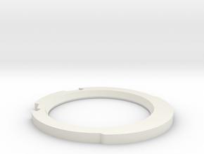 Graflex Lip UPDATED for 2.0 (1) in White Natural Versatile Plastic