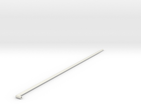 Yacht antenna in White Natural Versatile Plastic: Medium