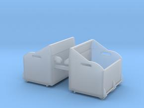 (2) ROW CROP ROCK BOX - WT BRACKET MOUNT in Smooth Fine Detail Plastic