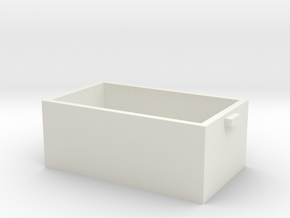 BOX.stl in White Natural Versatile Plastic