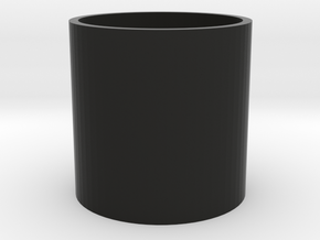 Drinking glass in Black Natural Versatile Plastic