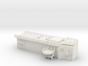 1/100 DKM ScharnhorstHangar in White Natural Versatile Plastic
