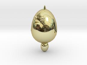 Hen in 18k Gold