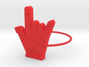 ROCK in Red Processed Versatile Plastic