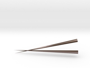 CHUAN'S Metal Chopsticks in Polished Bronze Steel