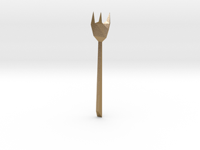 CHUAN'S Metal Fork in Polished Gold Steel