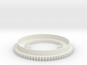 Turret Ring v0.2 in White Natural Versatile Plastic