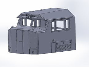 N-scale NS 6920 Crescent Cab in Smooth Fine Detail Plastic