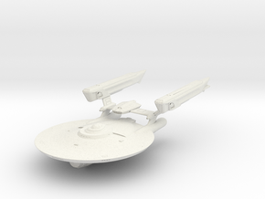 Ranger Class Refit  Cruiser in White Natural Versatile Plastic