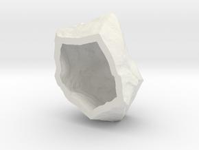 Natural Necessities Rock B in White Natural Versatile Plastic: Small
