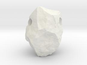 Natural Necessities Pendant Rock B in White Natural Versatile Plastic