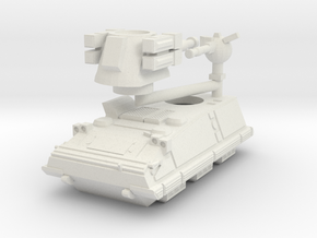 MG144-SV012 YW731 Longma Scout in White Natural Versatile Plastic