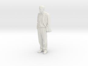 Printle C Homme 344 - 1/30 - wob in White Natural Versatile Plastic