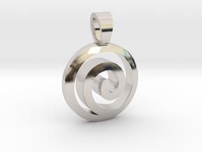 Uzumaki Family [pendant] in Platinum
