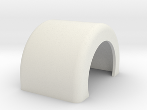 Fender single in White Natural Versatile Plastic